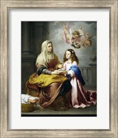 Saint Anne and the Virgin Fine Art Print