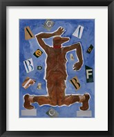 Untitled (Dancer with Glasses) Fine Art Print