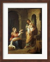 The Holy Family Fine Art Print