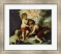 The Holy Children with a Shell Fine Art Print