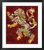 Lion Crest Fine Art Print