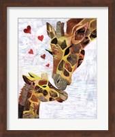 Sweet Giraffes Fine Art Print