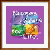 Nurses Care Fine Art Print