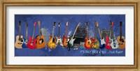 Guitars - It's Only Rock n' Roll Fine Art Print