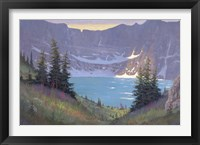 Iceberg Lake Fine Art Print