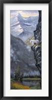 Cliff Hanger Fine Art Print