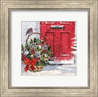 Christmas Basket Fine Art Print