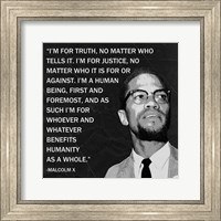 I'm for Truth Fine Art Print