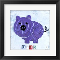Oink The Pig Fine Art Print