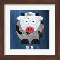 Moo The Cow Fine Art Print
