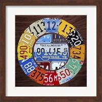 Clock Square Fine Art Print