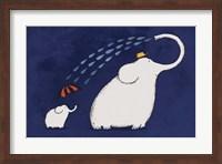 Umbrella Elephant Fine Art Print