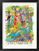 Life In The Rainforest Fine Art Print