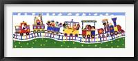 Train Panel Fine Art Print