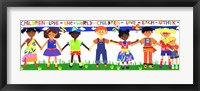 Children Love the World Fine Art Print