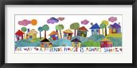 Friends House Fine Art Print