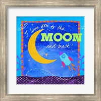 To The Moon Fine Art Print