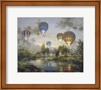 Balloon Glow Fine Art Print
