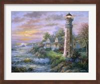 Lighthouse Haven II Fine Art Print