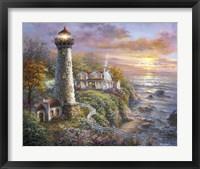 Lighthouse Haven Fine Art Print