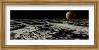 Jupiter's Moon, Europa, covered by a Thick Crust of Ice Fine Art Print