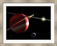 A Jupiter-mass planet orbiting the nearby star Epsilon Eridani Fine Art Print