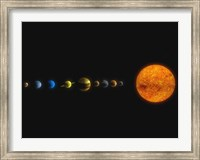 Solar System I Fine Art Print