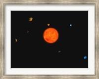 Solar System II Fine Art Print
