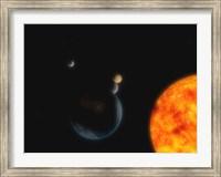 Solar System III Fine Art Print