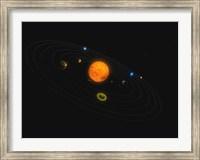 Solar System V Fine Art Print