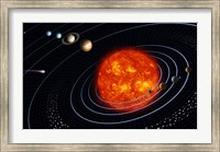 Solar System VI Fine Art Print