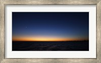 The Moon and Venus in Conjunction Fine Art Print