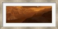 Maxwell Montes Mountain Range on the Planet Venus Fine Art Print