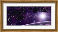 Asteroid field against a Celestial Background Fine Art Print
