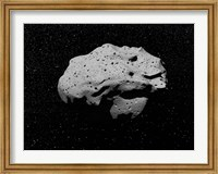 Asteroid in Outer Space Fine Art Print