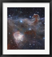 The star-forming region NGC 2024 in the Constellation Orion Fine Art Print