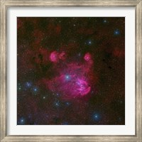 IC 2944, a large H II region in the Constellation of Centaurus Fine Art Print