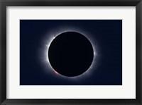 Total Solar Eclipse taken near Carberry, Manitoba, Canada Fine Art Print
