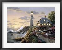 Lighthouse Cottage Fine Art Print