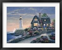 Lighthouse Overlook Fine Art Print