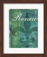 Renew - Unwind I Fine Art Print