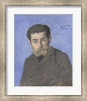 Portrait Of The Writer Joris-Karl Huysmans (1848-1907) Fine Art Print