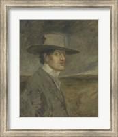 Portrait Of The Artist, 1906 Fine Art Print
