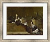 Court Scene Fine Art Print