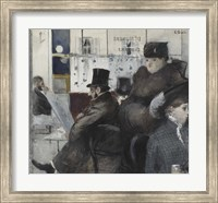 Interior Of The Cafe Nouvelle Athenes Fine Art Print