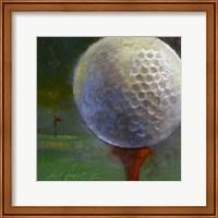 Golf ball Fine Art Print