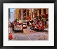 Fire Department New York, 42nd Street NYC Fine Art Print