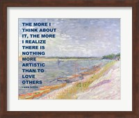 Love Others -Van Gogh Quote Fine Art Print