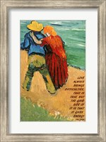 Love -Van Gogh Quote Fine Art Print