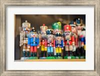 Wooden Nutcrackers Fine Art Print
